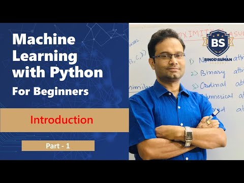 Machine Learning with Python Tutorial for Beginners   Part - 1  Hands on   Easy explanation thumbnail