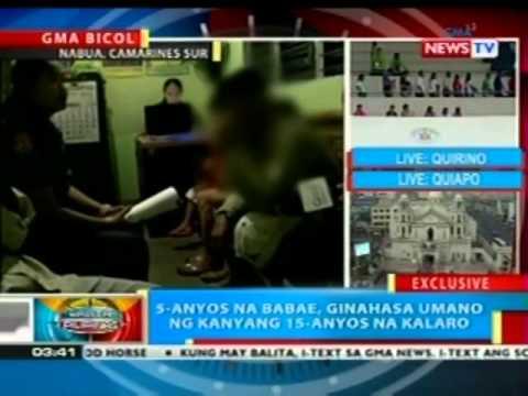 BP: 5-anyos na babae sa Camarines Sur, ginahasa umano ng kanyang binatilyong kalaro
