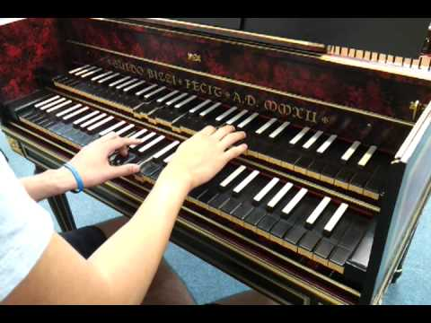 Paradise Coldplay cover on harpsichord