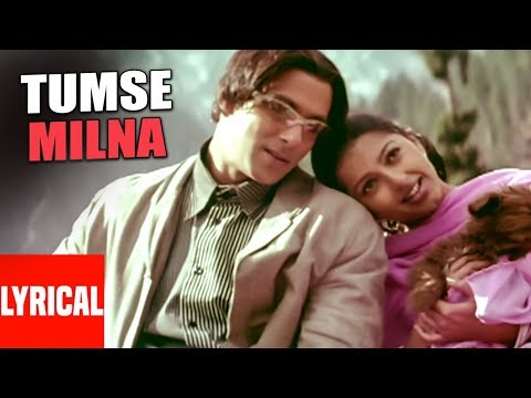 Tumse Milna Lyrical Video | Tere Naam | Himesh Reshammiya |