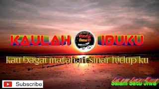 Download Dj KAULAH IBU KU bass manthul Mp3