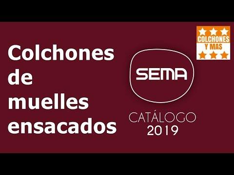 COLCHONES SEMA DE MUELLES ENSACADOS 2019