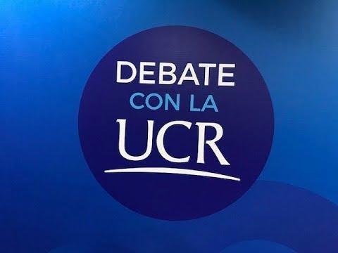 Debate con la UCR