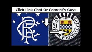 Rangers v St. Mirren Premiership Live Stream 2018 | Ibrox Stadium