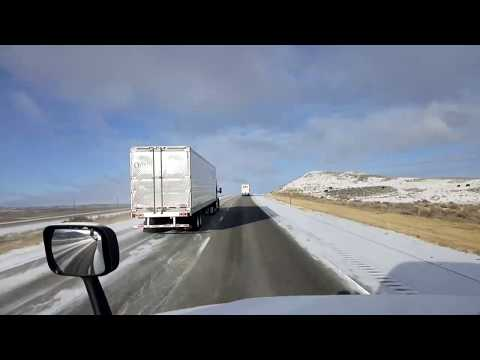 BigRigTravels LIVE! Rawlins to east of Evanston, Wyoming Interstate 80-Oct. 14, 2018