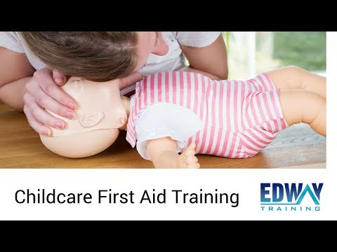 Childcare First Aid Training Course | Edway Training Melbourne