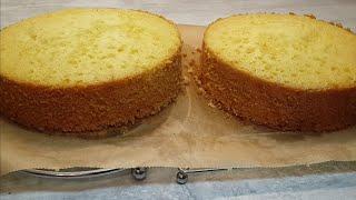 Бисквит Королева Виктория | Вкусный Нежный бисквит со сливочным ароматом
