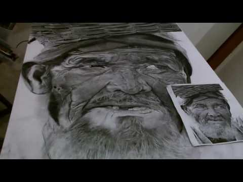 Hyperrealistic Drawing – (Time Lapse)