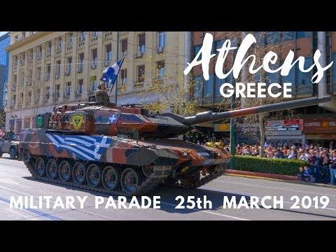 Αθηνα Στρατιωτικη Παρελαση 25ης Μαρτιου 2019 Athens Greece Military Parade 25th March 2019 GH5 4K