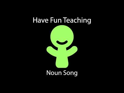 Noun Song (Learn Nouns for Kids - Audio)