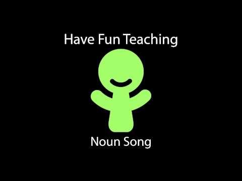 Noun Song Learn Nouns for Kids  Audio