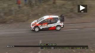WRC7 トヨタ ヤリスで走ってみました。(ウェールズ・ラリーGB練習編)#56