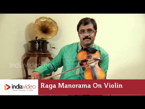 Raga Series - Raga Manorama on Violin by Jayadevan