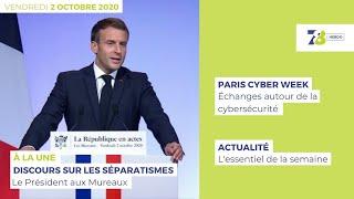 7/8 L'Hebdo. Edition du 2 octobre 2020
