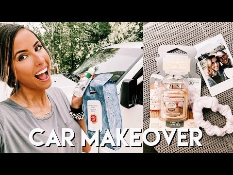 CLEANING MOTIVATION | deep clean my car with me + car makeover