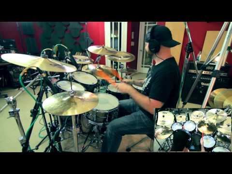 The Surfaris - Wipe Out (Improv Drum Cover) 1080P