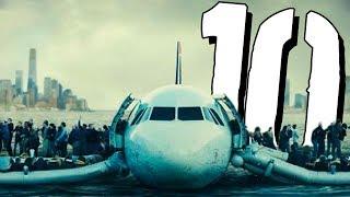 10 lotów PRAWIE zakończonych katastrofą [TOPOWA DYCHA]