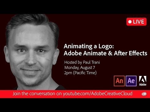 Animating a Logo: Adobe Animate & Adobe After Effects