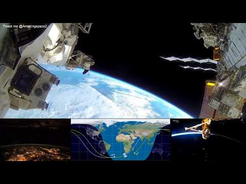 NASA Live - Earth From Space (HD Cams) ISS Live Stream #ISS | Live Nasa Feed