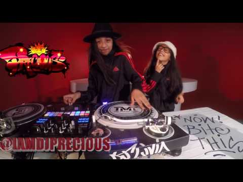 DJ Livia DJ Precious Breakdance & DJ