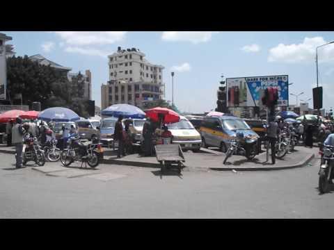Boda ride into Arusha.