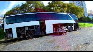Esenler Otogarındaki Kaderine Bırakılmış Otobüsler