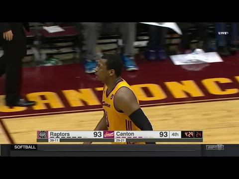 Jonathan Holmes posts 16 points & 10 rebounds vs. the 905