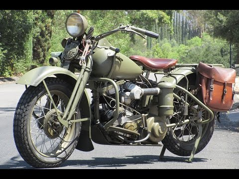 1941 harley davidson wla for sale youtube. Black Bedroom Furniture Sets. Home Design Ideas