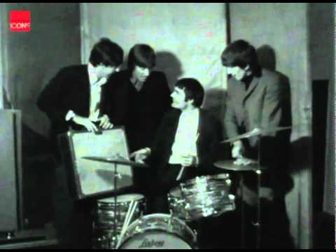 The Beatles let Jimmy Nicols fills in for Ringo Starr on the drums