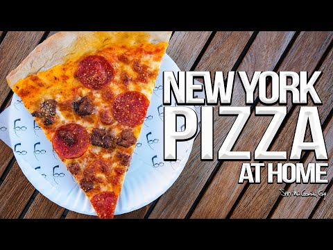 The Best Pizza I've Ever Made – Homemade New York Pizza | SAM THE COOKING GUY 4K