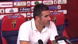 Casertana-Catania 1-0 conferenza Lucarelli (2 settembre 2017 - 2° giornata Serie C)