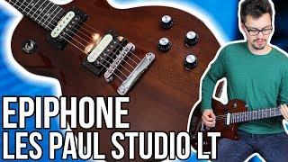 Epiphone Les Paul Studio LT Demo/Review    A New Budget Les Paul For 2017!!