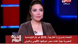 وزارة الخارجية: 2016 عام الدبلوماسية المصرية (فيديو) | المصري اليوم