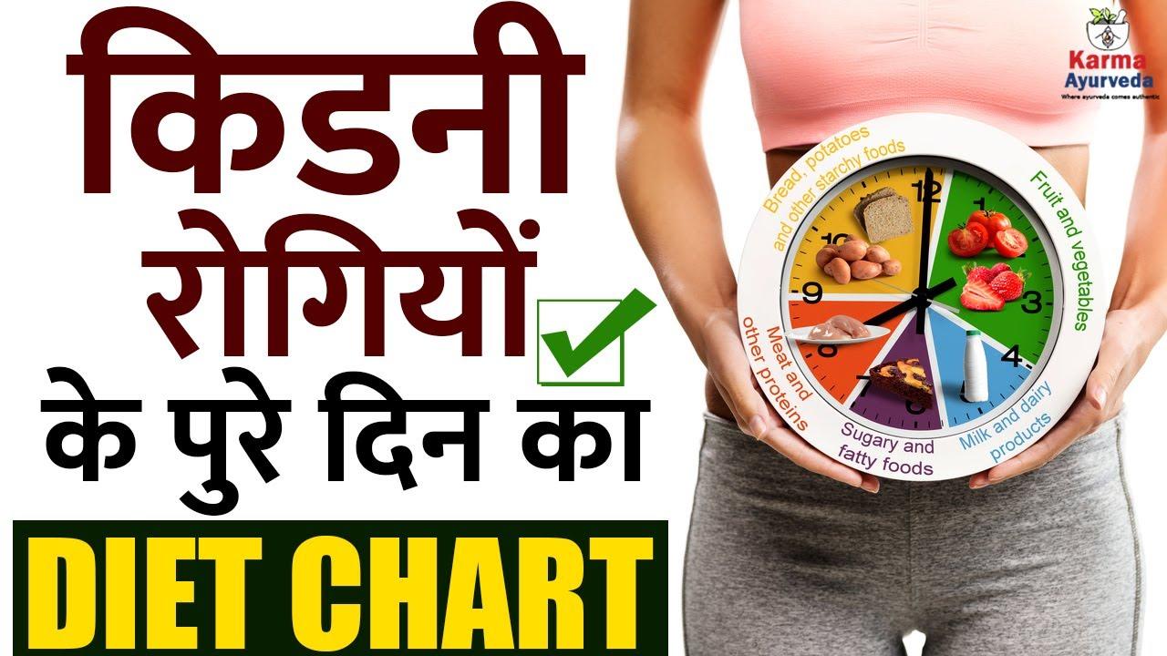 किडनी रोगियों के पुरे दिन का Diet Chart | Full Day Diet Chart for Kidney Patients | Kidney Treatment