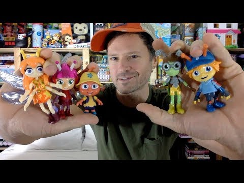 Beat Bugs 3 Inch Fab Figures Buzz, Crick, Jay, Kumi & Lucy: Hijinx Blip Toys Unboxing Review