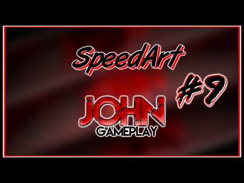 🔵«SpeedArt» #9 John Gameplay •Banner+Logo•