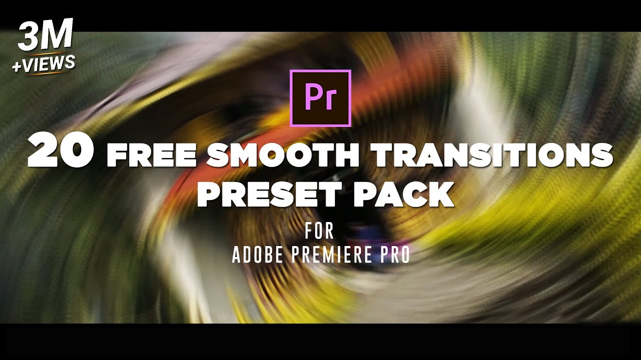 20 FREE Smooth Transitions Preset Pack for Adobe Premiere Pro | Sam Kolder Style