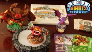 Skylanders Giants 3DS Unboxing Starter Pack 1080p HD