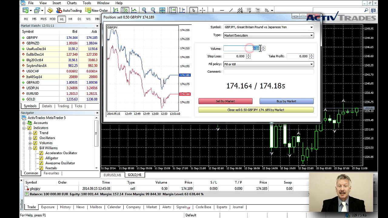 One Click Trading In Mt5 Youtube