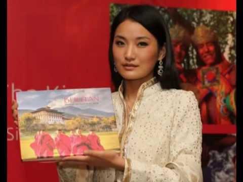 The Beautiful Queen of Bhutan   Jetsun Pema - 480P