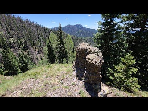 Hiking Little Blanco Trail, San Juan Mountain's, 10,000' Starting Elevation 7.30.20