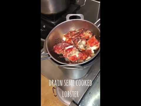 HOW to CLEAN & COOK Chinese lobster the simple way