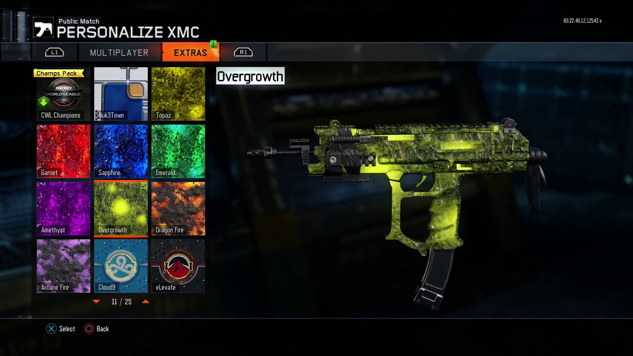 BO3 *NEW* Halloween Update With Free Overgrowth Camo!! New October DLC Weapons BO3!? - YouTube