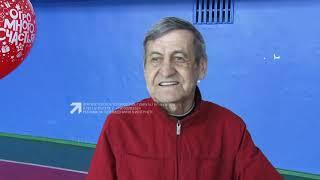 В конце апреля свой юбилей отметил наставник футбольного клуба Локомотив Александр Захарушкин