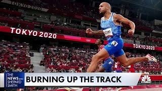 Fmr. Olympic medalist Justin Gatlin on Italy's Marcell Jacobs 100M win