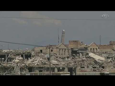 Mesquita onde EI foi proclamado é destruída