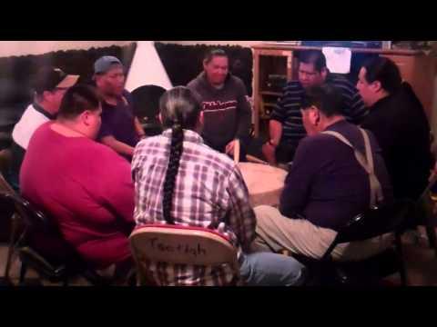 Redstone Oklahoma Singers Singing Kiowa War Mothers Songs