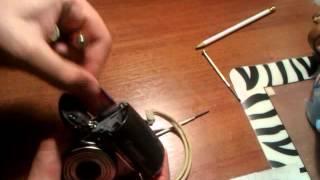 Ремонт Canon A590 (быстро разряжается батарея)(, 2014-07-11T17:59:44.000Z)