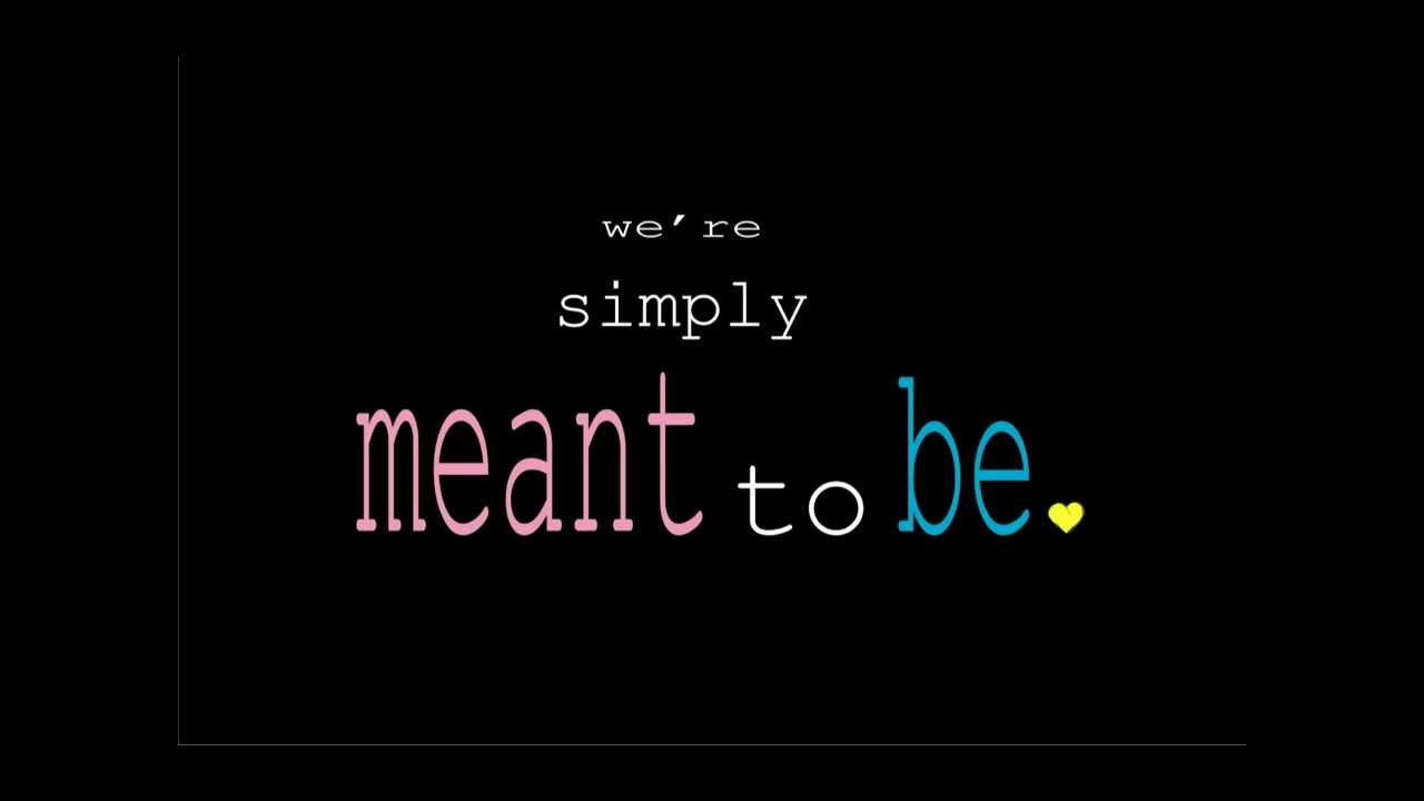 Typography - Simply Meant To Be - YouTube