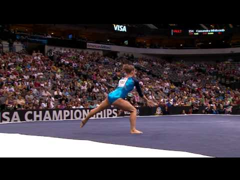 Bridget Sloan - Floor Exercise - 2009 Visa Championships - Women - Day 1